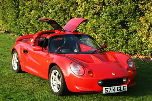 1998 Lotus Elise 160 BHP upgrade For Sale (picture 4 of 6)
