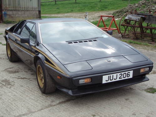 special section best authentic great quality 1979 JPS Lotus Esprit S2 Limited edition No 026 SOLD | Car ...