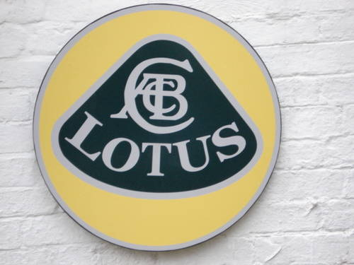 Lotus garage sign For Sale (picture 1 of 1)