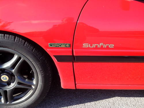 1993 LOTUS SUNFIRE For Sale (picture 3 of 6)