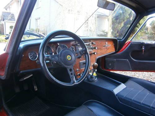 LOTUS ELAN 1967 DHC LEFT HAND DRIVE ***SOLD DEPOSIT TAKEN** For Sale (picture 3 of 6)