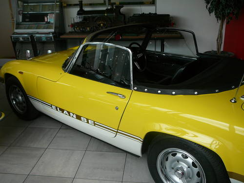 1969 Lotus Elan SE4 with very interesting history. For Sale (picture 1 of 6)