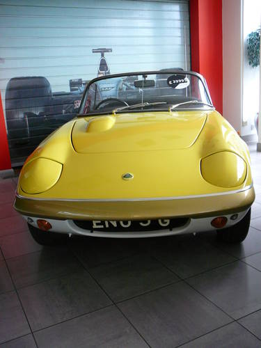1969 Lotus Elan SE4 with very interesting history. For Sale (picture 2 of 6)