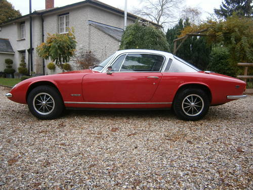 LOTUS ELAN +2S 130/5  1972  LOW MILEAGE***SOLD****   For Sale (picture 1 of 6)