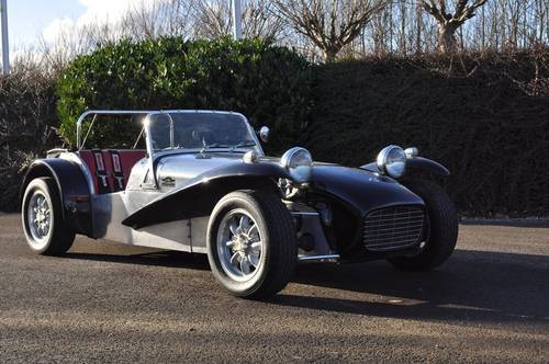 Lotus Seven 1966 Alu Black  For Sale (picture 1 of 6)