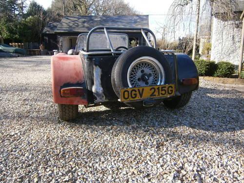 LOTUS SUPER 7 S3 1969 Original Car FOR RESTORATION **SOLD** For Sale (picture 2 of 6)