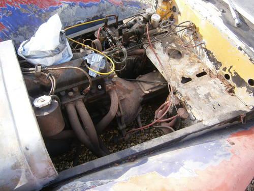 LOTUS SUPER 7 S3 1969 Original Car FOR RESTORATION **SOLD** For Sale (picture 6 of 6)