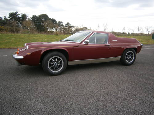 1973 LOTUS EUROPA SPECIAL BIG VALVE 5 SPEED LOW ***SOLD***SOLD*** For Sale (picture 1 of 6)