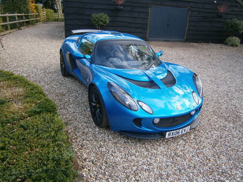 2006 LOTUS EXIGE S2 16V TOURING 190 BHP LAZER BLUE  ***SOLD*** For Sale (picture 1 of 6)