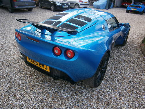 2006 LOTUS EXIGE S2 16V TOURING 190 BHP LAZER BLUE  ***SOLD*** For Sale (picture 6 of 6)