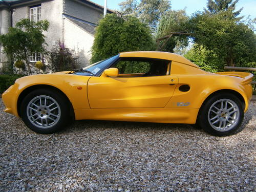 1999 LOTUS ELISE S1 DEALER/FACTORY SPECIAL ORDER 160 **SOLD**   For Sale (picture 1 of 6)