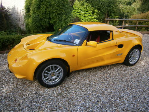 1999 LOTUS ELISE S1 DEALER/FACTORY SPECIAL ORDER 160 **SOLD**   For Sale (picture 2 of 6)
