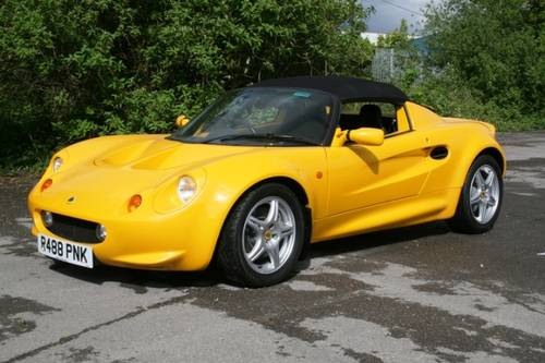 1998 Lotus Elise S1  SOLD (picture 1 of 6)