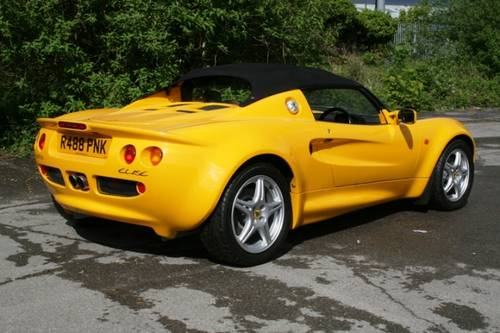 1998 Lotus Elise S1  SOLD (picture 4 of 6)