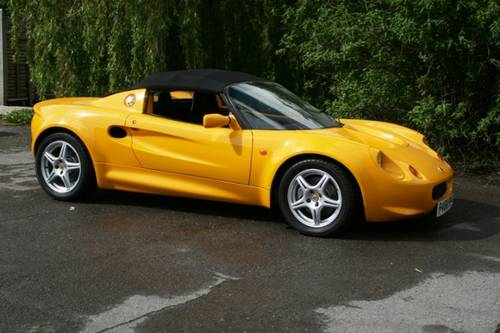 1998 Lotus Elise S1  SOLD (picture 5 of 6)