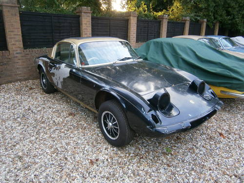1973 LOTUS ELAN +2 S 130/5 SPD JPS COLOURS NEEDS RESTORING. For Sale (picture 1 of 6)