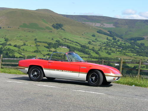 1971 Lotus Elan Sprint SOLD (picture 1 of 6)
