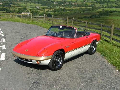1971 Lotus Elan Sprint SOLD (picture 4 of 6)