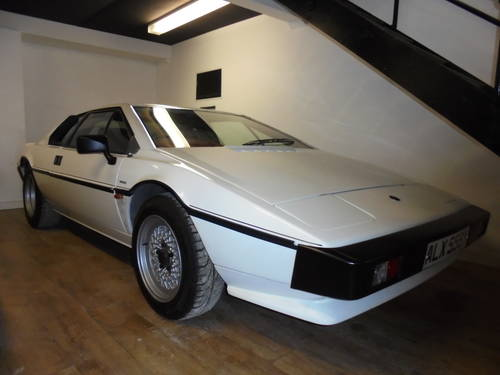 1982 Lotus Esprit S3 ** 23K MILES *ONLY 2 FORMER KEEPERS *DR For Sale (picture 1 of 6)