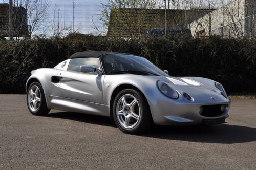 LOTUS ELISE S1 SILVER 1998 ID17016 SOLD (picture 1 of 6)