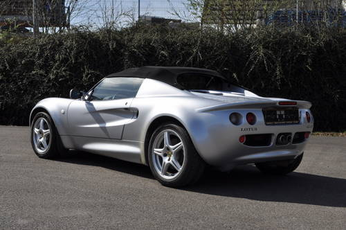 LOTUS ELISE S1 SILVER 1998 ID17016 SOLD (picture 2 of 6)