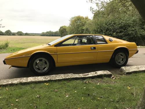new design premium selection official shop 1978 LOTUS ESPRIT S1 For Sale | Car And Classic