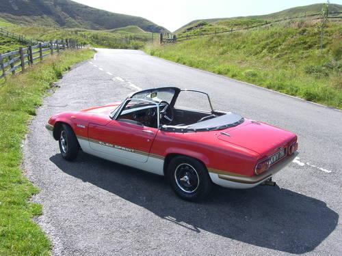 1971 Lotus Elan Sprint SOLD (picture 6 of 6)