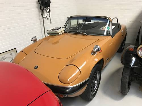 LOTUS ELAN S4 DHC 1969 ONLY 54,000 miles FROM NEW SOLD (picture 3 of 6)