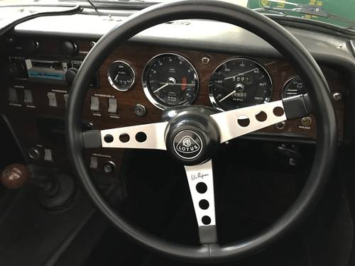 LOTUS ELAN S4 DHC 1969 ONLY 54,000 miles FROM NEW SOLD (picture 4 of 6)