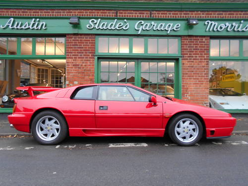 1993 Lotus Esprit Turbo SE Manual Coupe High Tail  SOLD (picture 1 of 5)
