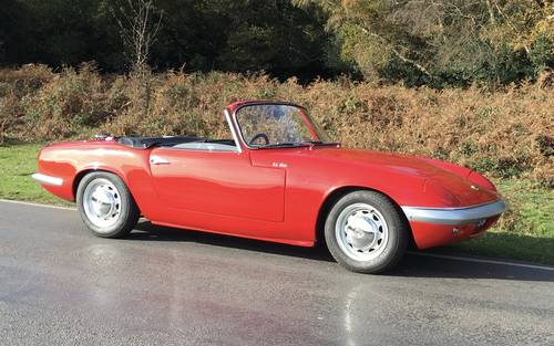 1964 LOTUS ELAN S2 For Sale (picture 1 of 10)