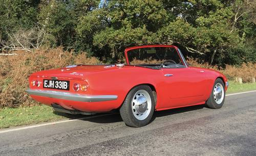 1964 LOTUS ELAN S2 For Sale (picture 4 of 10)