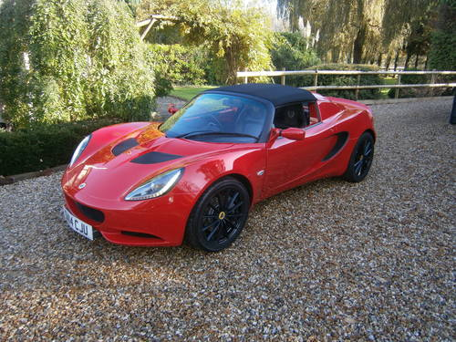 2014 LOTUS ELISE MK3 16V CLUB RACER SPECIAL SOLD SOLD For Sale (picture 1 of 6)