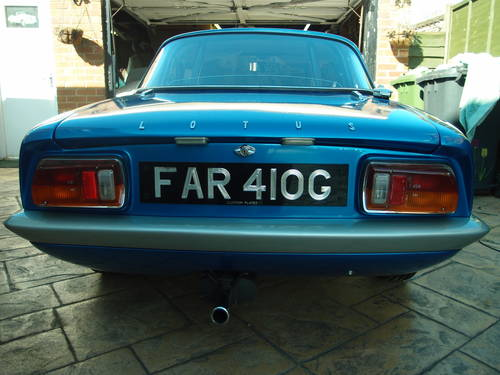 1969 Lotus Elan S4 Coupe (SE Spec) For Sale (picture 1 of 6)