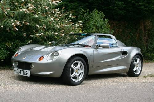 1997 Lotus Elise S1 SOLD (picture 1 of 6)