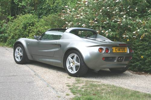 1997 Lotus Elise S1 SOLD (picture 3 of 6)