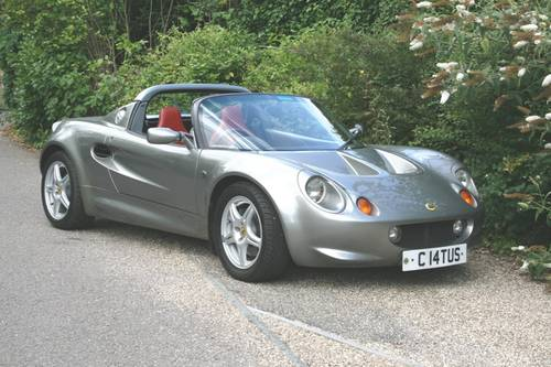1997 Lotus Elise S1 SOLD (picture 4 of 6)