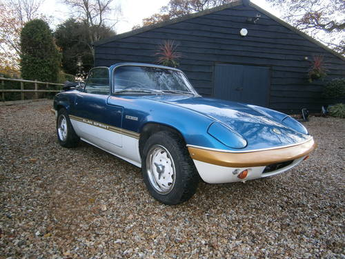 LOTUS ELAN SPRINT DHC TYPE 45  LAGOON **SOLD*SOLD** 1972 For Sale (picture 2 of 6)