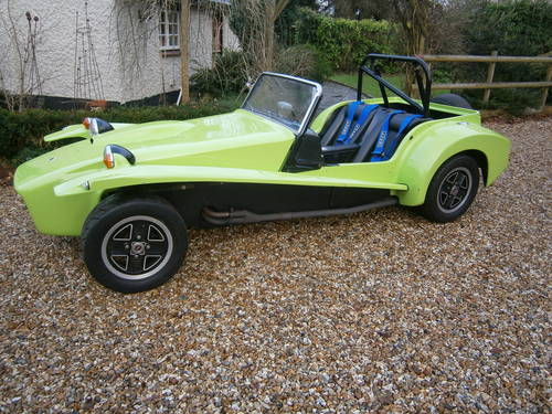 1970 LOTUS 7 S4 VEGANTUNE 1600 CROSSFLOW (130 BHP) SOLD For Sale (picture 1 of 6)