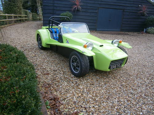 1970 LOTUS 7 S4 VEGANTUNE 1600 CROSSFLOW (130 BHP) SOLD For Sale (picture 2 of 6)