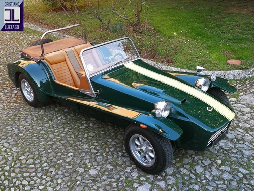 VERY RARE 1970 LHD LOTUS SEVEN S4 For Sale (picture 3 of 6)