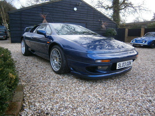 2004 LOTUS ESPRIT V8 TWIN TURBO `SE` 1 OF 15 CARS **SOLD** RARE For Sale (picture 2 of 6)