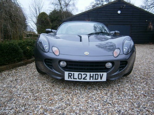 2002 LOTUS ELISE 111S  ONE OWNER  LOW MILEAGE  SUPERB**SOLD** For Sale (picture 2 of 6)