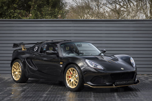 2018 LOTUS ELISE 250 GP CUP EDITION SOLD (picture 1 of 6)