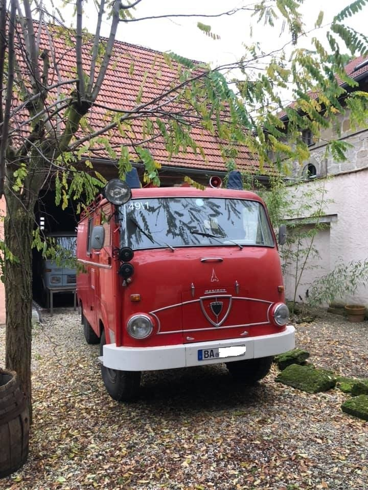 1964 Firetruck Van For Sale (picture 1 of 6)