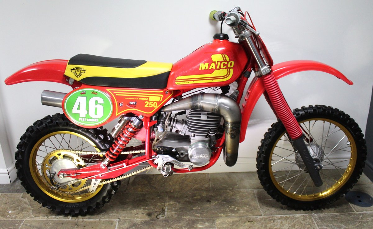 1981 Maico 250 cc Twin Shock Moto Cross OUTSTANDING ...