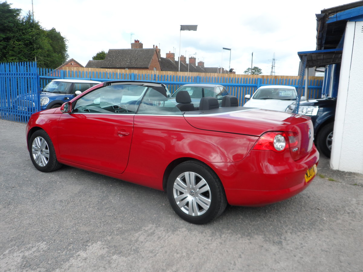 2007 V/W CC CONVERTIBLE  2LTR 6 SPEED MANUA  NEW MOT GOOD DRIVER  For Sale (picture 2 of 6)