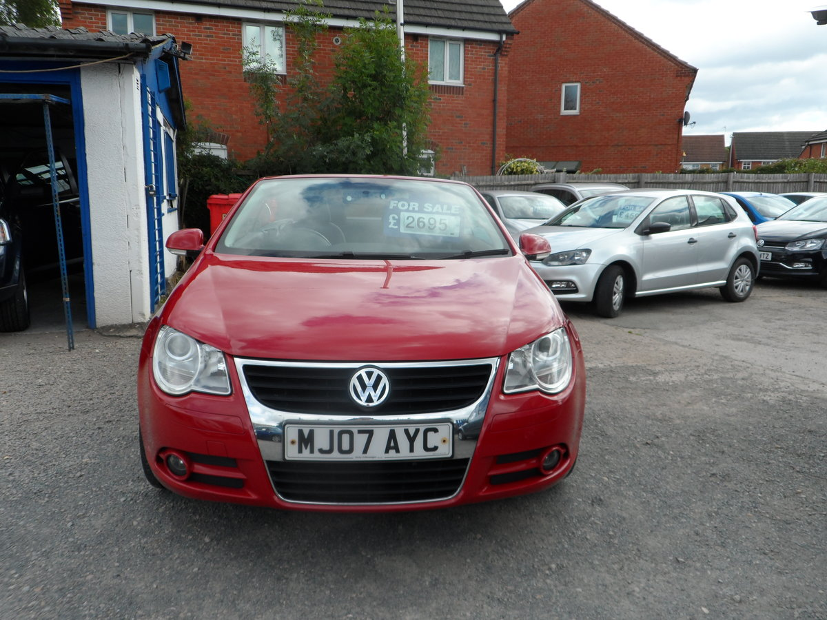 2007 V/W CC CONVERTIBLE  2LTR 6 SPEED MANUA  NEW MOT GOOD DRIVER  For Sale (picture 3 of 6)