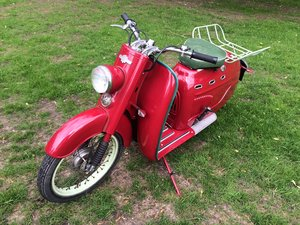1958 Manurhin Concorde Beltamatic Scooter.  75cc For Sale