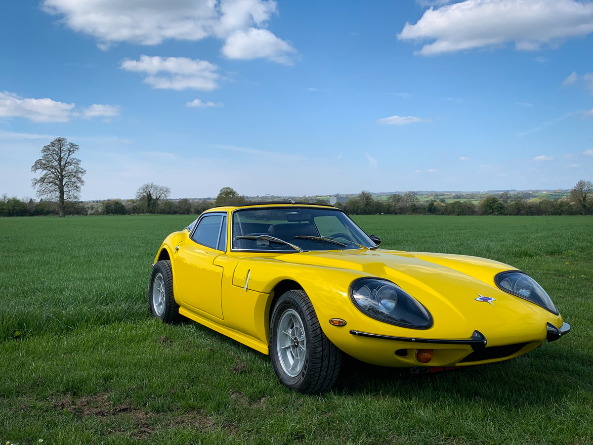 1970 3 litre straight 6 LHD Auto Marcos GT Coupe For Sale (picture 1 of 6)